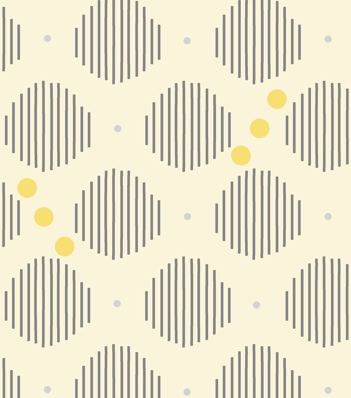 Daisy Kingdom - Lucy Collection - Striped Dots