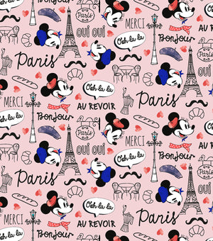 Mickey Mouse and Minnie Mouse- Love in Paris