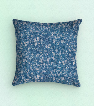Baxter Mill Illusory Floral Scroll Blue