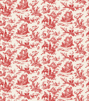 Baxter Mill Homestead Toile Red