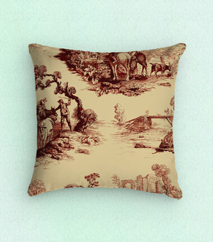 Baxter Mill Homestead Farmstead Toile Fabric