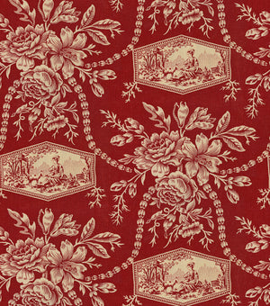 Baxter Mill Homestead Vintage Floral Toile