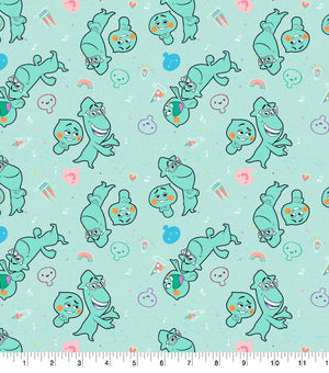Disney and Pixar's Soul World Best Buds Fabric