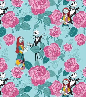 The Nightmare Before Christmas - Jack and Sally Love and Roses