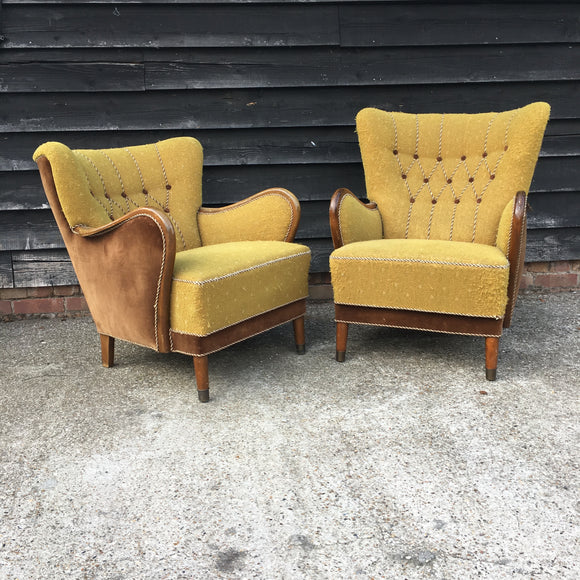 Vintage Chairs Available For Bespoke Upholstery