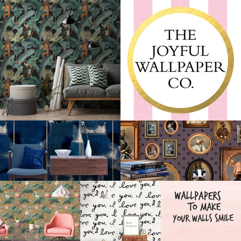 SELECTION OF WALLPAPER AVAILABLE AT THE JOYFUL WALLPAPER COMPANY