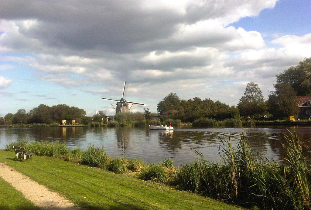 Ouderkerk aan de Amstel Amsterdam Cycle Route Windmill Holland