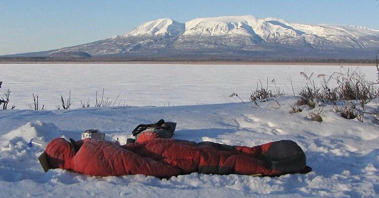 World's toughest bike race? Iditarod Trail Invitational sleeping in the wild