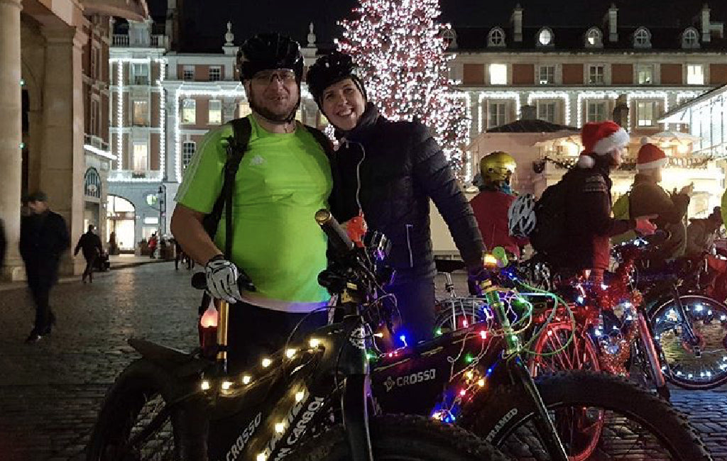 World's toughest bike race? Iditarod Trail Invitational christmas bike ride