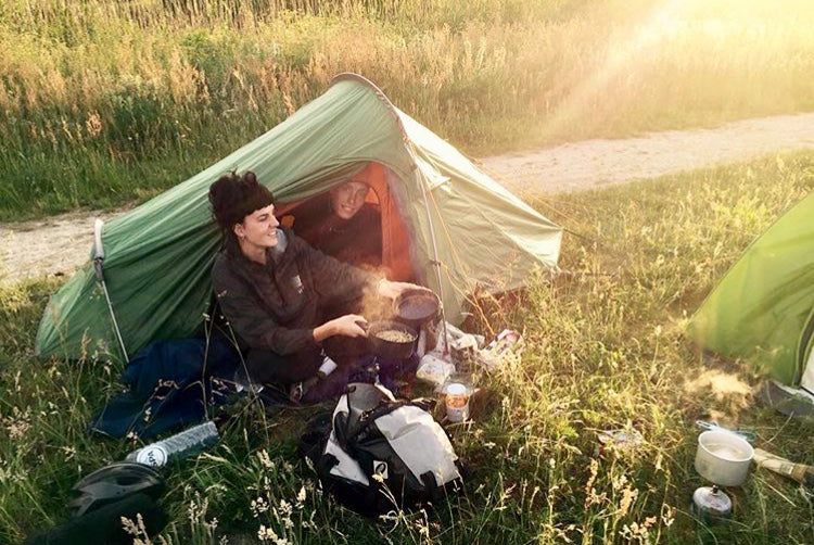 Czechia martha and ben camping