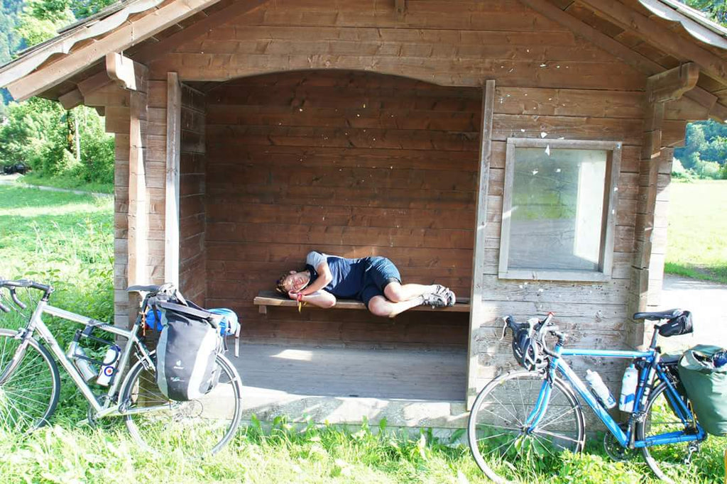 Ultimate Trip Runner-up: Geneva to Pisa sleeping on the side of the road