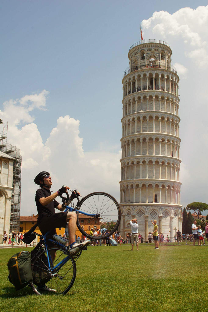 Ultimate Trip Runner-up: Geneva to Pisa tower