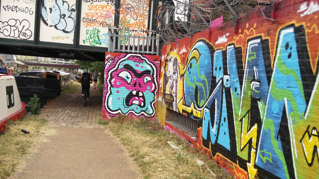Epping Forest graffiti in hackeny wick
