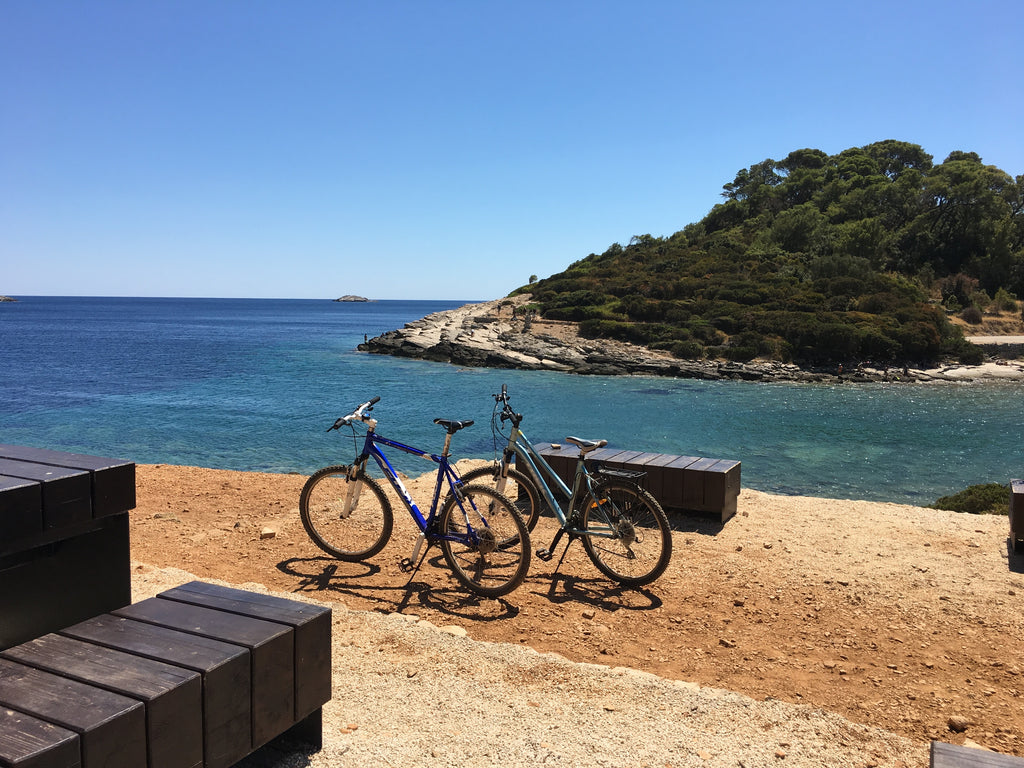 Ultimate Trip: Mljet National Park bike's parked