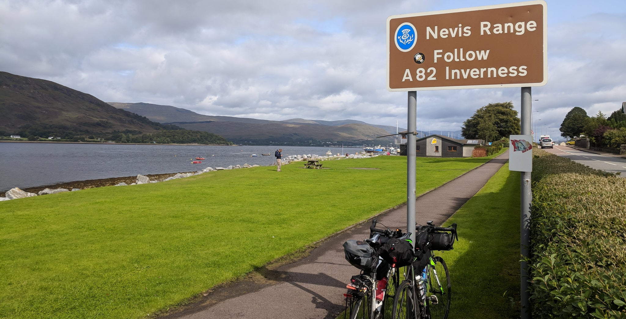 Cycle Tour Three Peaks Challenge Scotland Ben Nevis