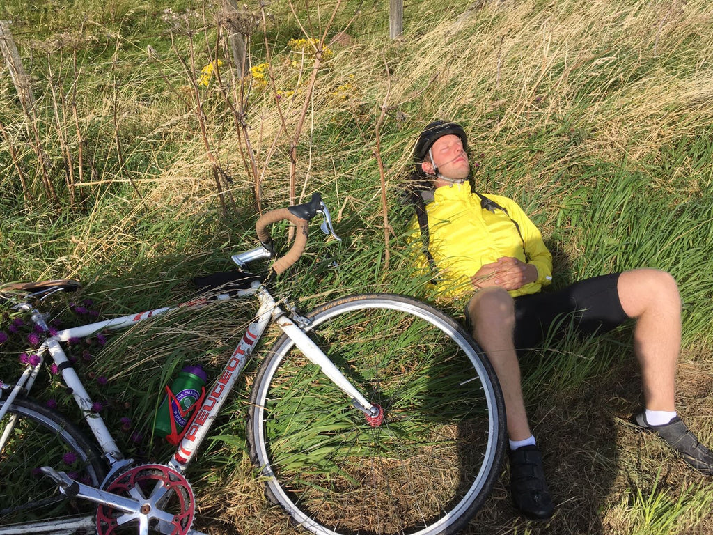 Wandsworth to Box Hill surrey hills mark sleeping