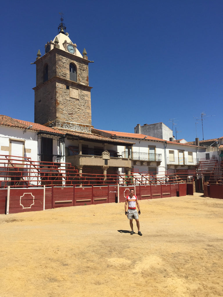 bull ring in the douro valley
