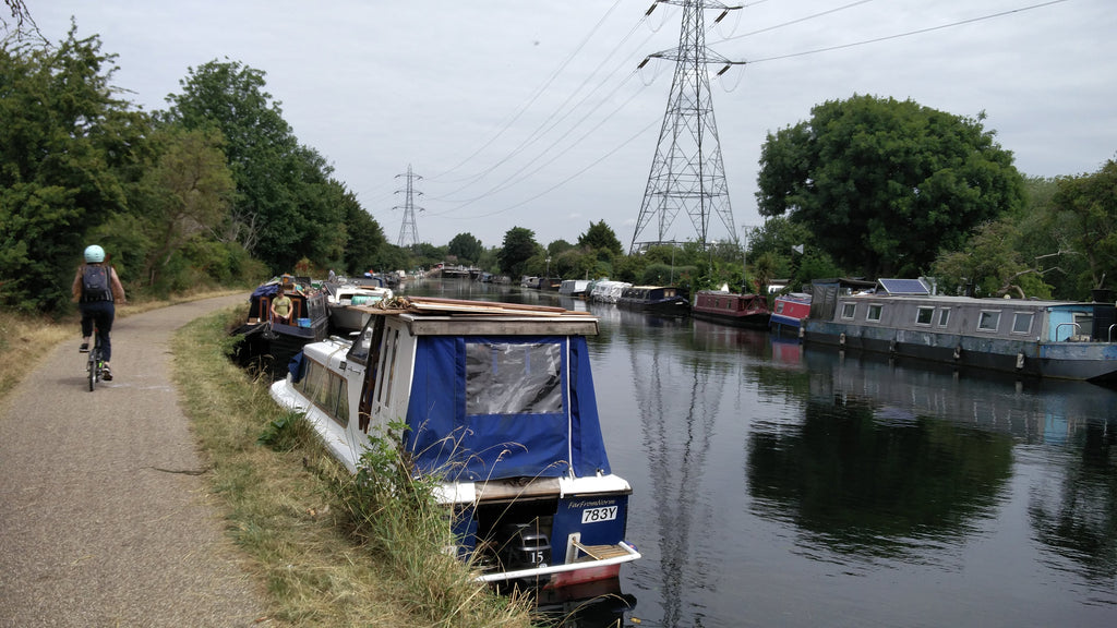 Epping Forest house boats hackney