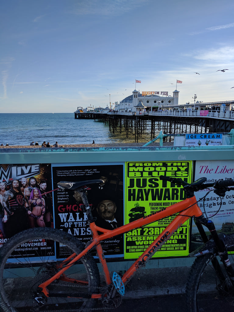 The South Downs Way view of the brighton pier