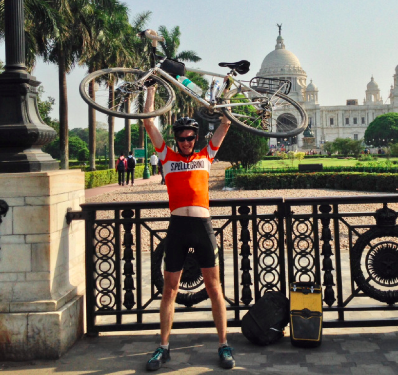 Cycling India's Grand Trunk Road calcutta arrival