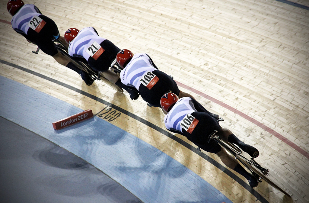 cyclist track cycling