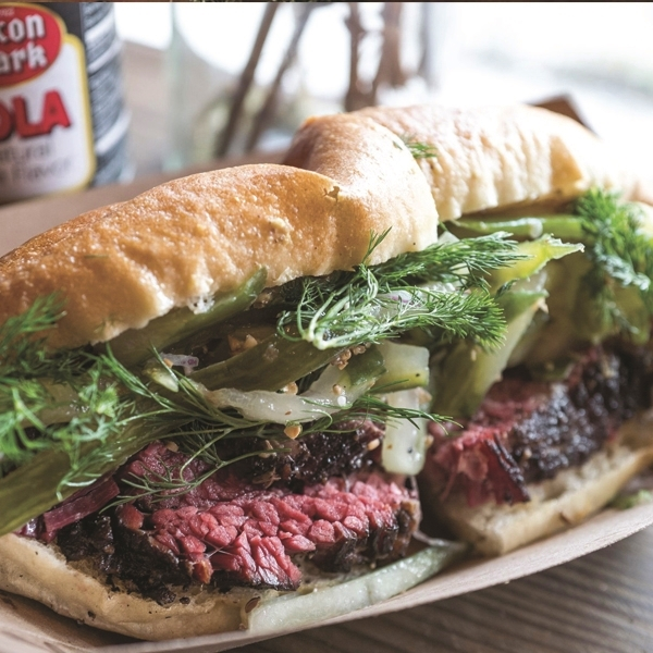 steak sandwich in new york