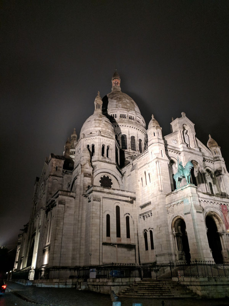 Chantilly to Notre Dame sacre coeur