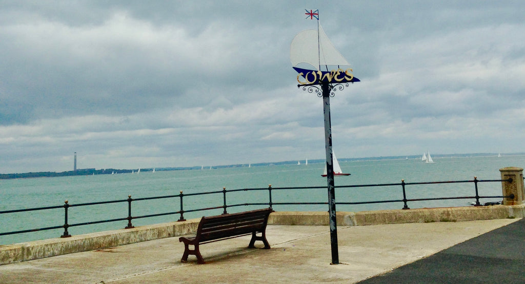 Isle of Wight cowes view of the sea