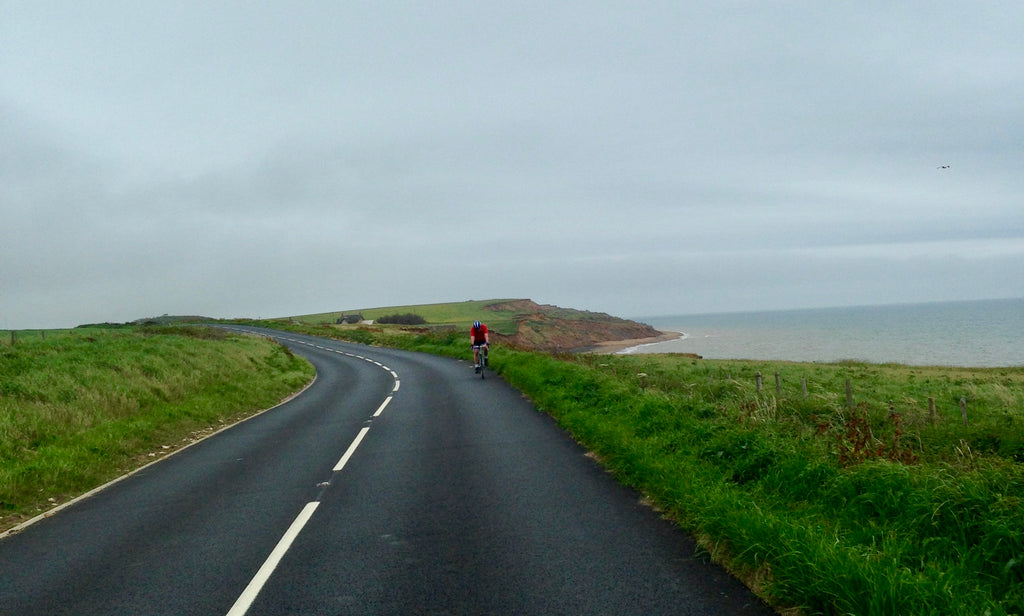 Isle of Wight cycling on the road