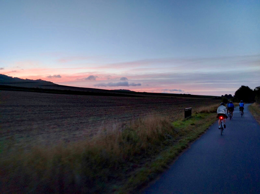 Ultimate Trip Runner-up: London to Paris cycling at dusk