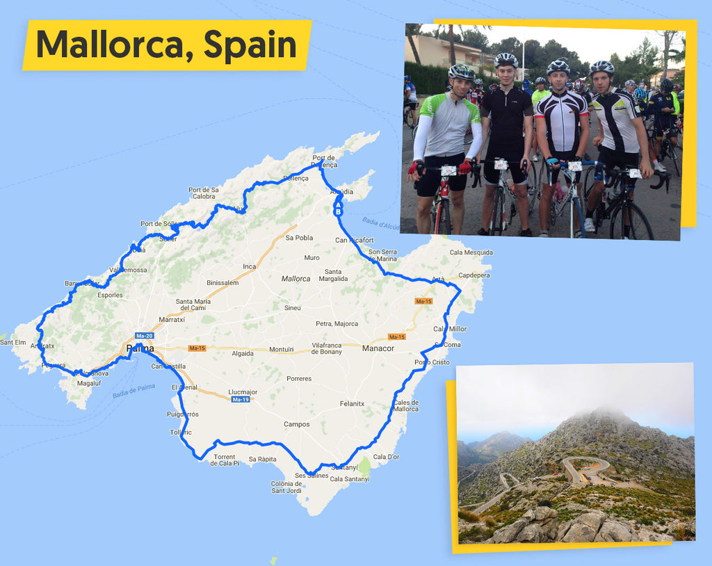 Ultimate Trip 2018: Mallorca 312 cycle route map