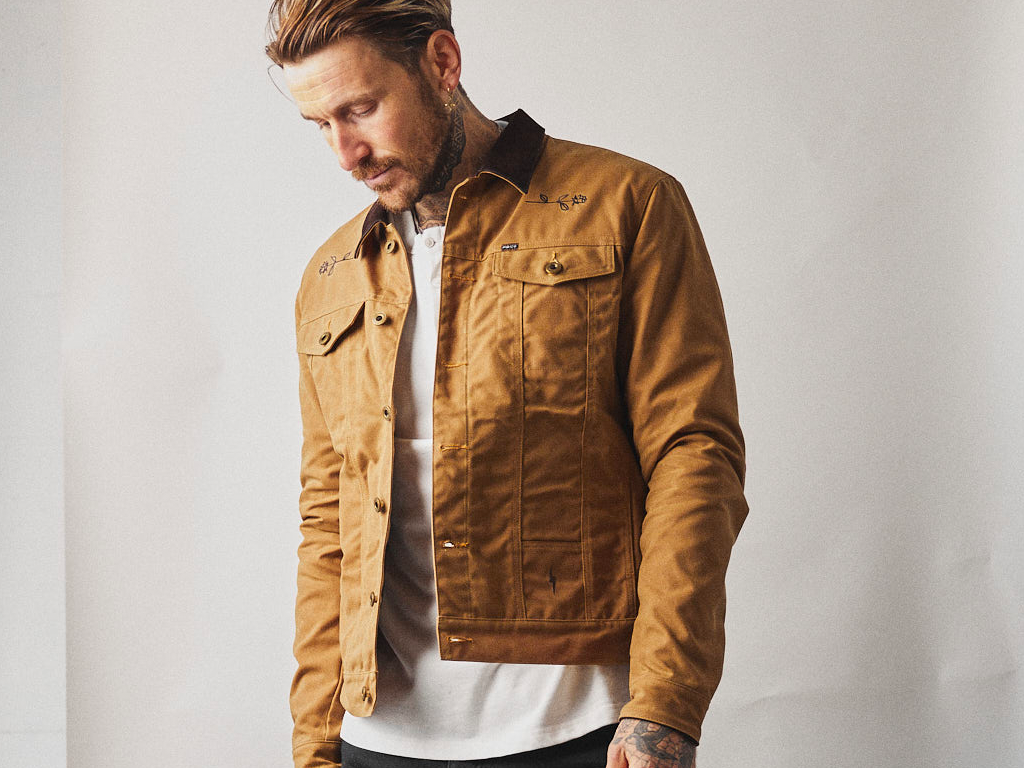 P&Co Wayfare Waxed Canvas Jacket