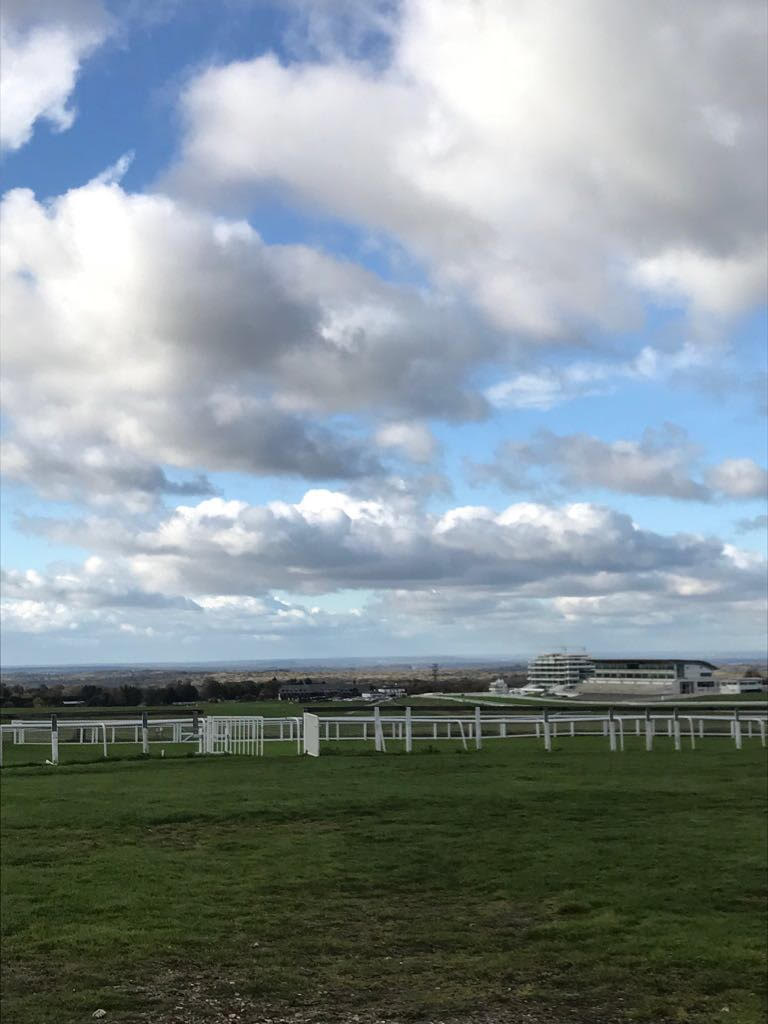 Epsom Downs Loop view of london