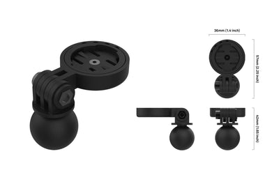 Beeline moto Ram Ball Adapter mount specs