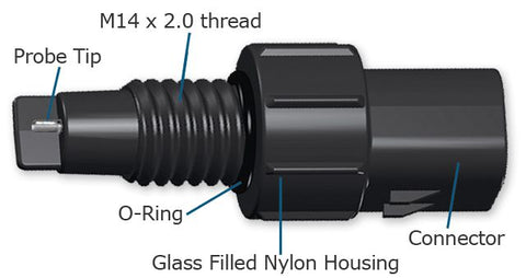 WW002822AA Glass Filled Nylon WIF Sensor (220K Ω, M14 x 2.0 thread)
