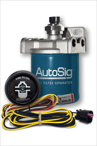 "4"" AutoSig® SMART Filter System Kit (AS-SS-G1 KIT w/4"" Filter and Gauge)"