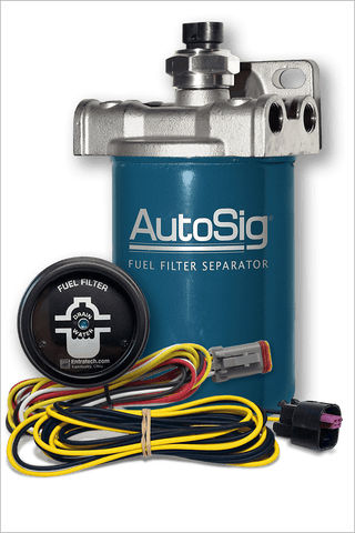 "6"" AutoSig® SMART Filter System Kit (AS-SS-G1 KIT w/6"" Filter and Gauge)"