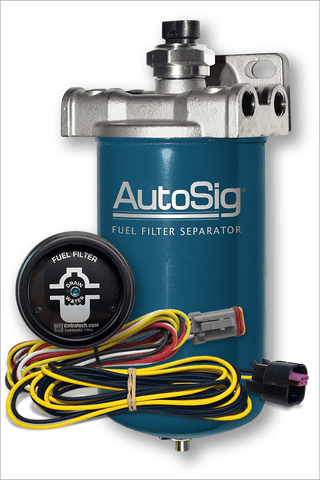 "8"" AutoSig® SMART Filter System Kit (AS-SS-G1 KIT w/8"" Filter and Gauge)"