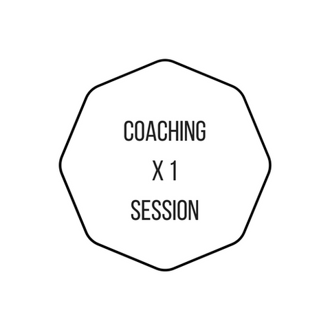 1 x Face-to-Face Coaching Session 1 hour