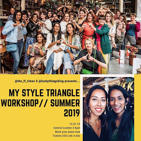 My Style Triangle workshop - Saturday 13 July  2019