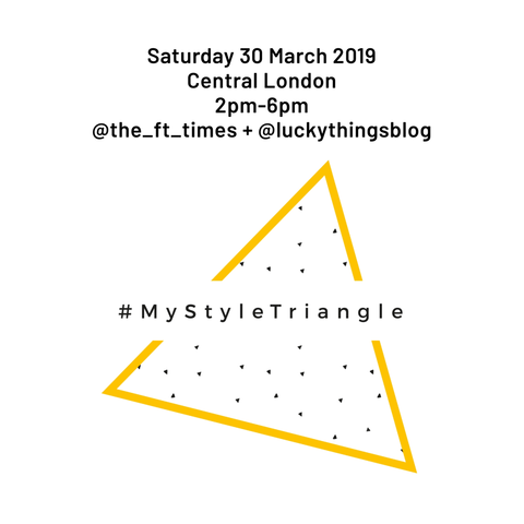 My Style Triangle workshop - Saturday 30 March 2019