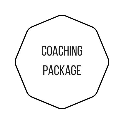 Bespoke Coaching Package (face-to-face + Skype video 4 sessions)
