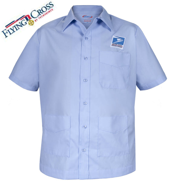 Flying Cross Men's USPS Letter Carrier Short Sleeve Shirt Jac