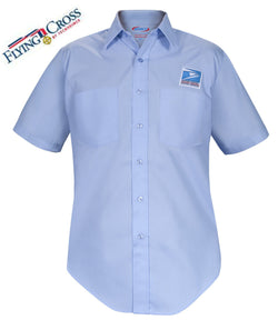 Flying Cross Men's USPS Letter Carrier Short Sleeve Postal Shirts