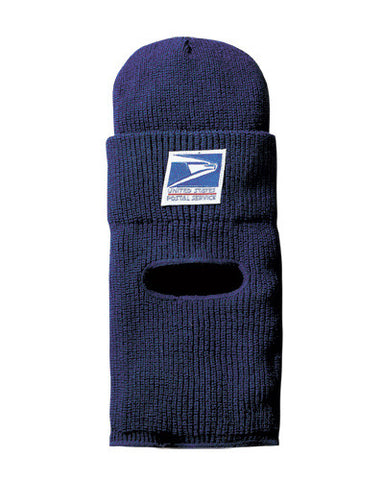 USPS Postal Letter Carrier Watch Cap with Protective Face Mask