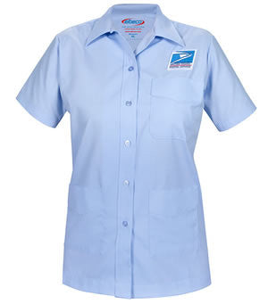 Women's Letter Carrier Short Sleeve Shirt Jac - Postal Uniform Bonus