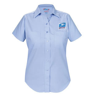 Women's Letter Carrier Short Sleeve Shirt - Postal Uniform Bonus