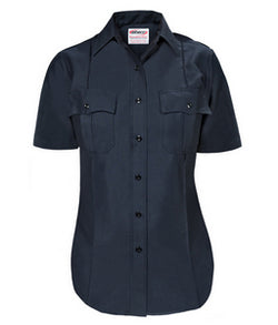 Female USPS Police Inspector Short Sleeve Midnight Navy Uniform Shirt