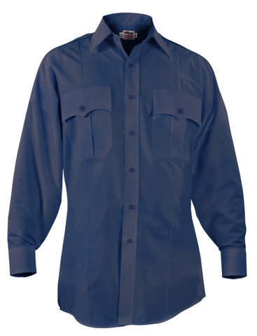 Men's Elbeco Paragon Plus Long Sleeve Shirt - Postal Police Emblem