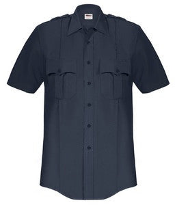 Men's Elbeco Short Sleeve Paragon Plus Poly/Cotton Shirt Includes 1 Postal Police Emblem